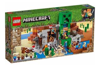 Lego Minecraft 21155 The Creeper Mine -original - 834 Piezas