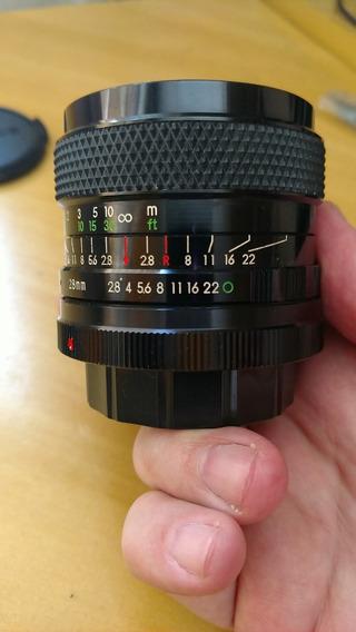 Lente 28mm 2.8 Manual Soligor Cd Sony Nex A7 A9 E-mount