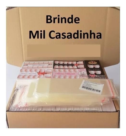 Kit 1000 Cartões 1000 Embalagens E 1000 Casadinhas De Brinde