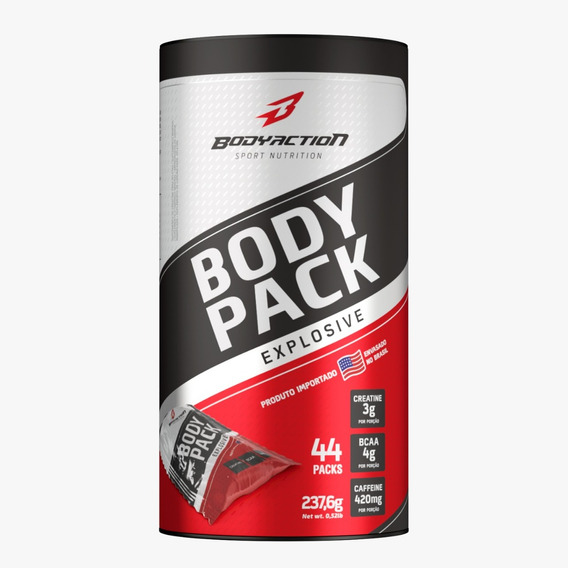 Body Pack Explosive 44 Pack Bodyaction