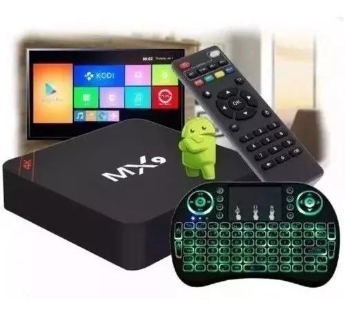 Conversor Smart Transformar Tv Em Smart Com Teclado Led