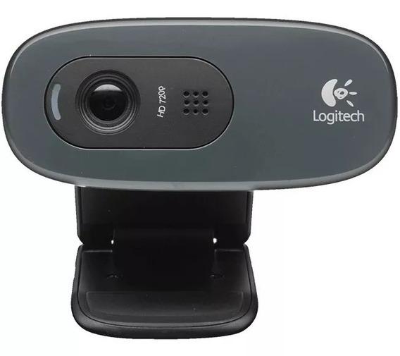 Webcam Logitech C270 3.0mp Hd 720p
