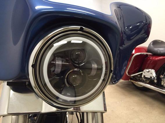 Farol Harley Davidson 7 Led Para Moto