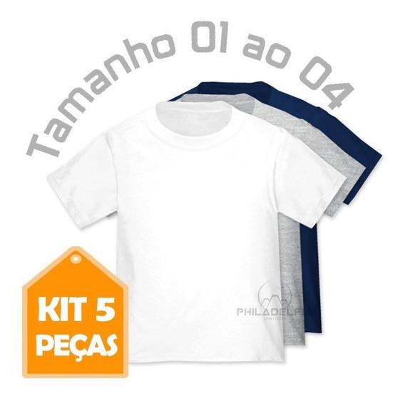 e3dd5a02bcf4 Camisetas de Bebê no Mercado Livre Brasil