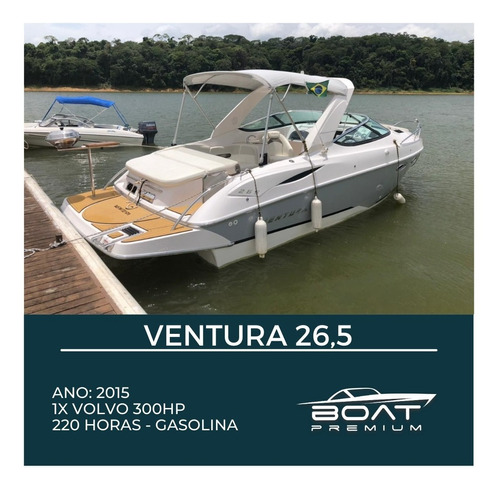 Ventura 26,5, 2015, 1x Volvo 300hp - Excalibur - Triton