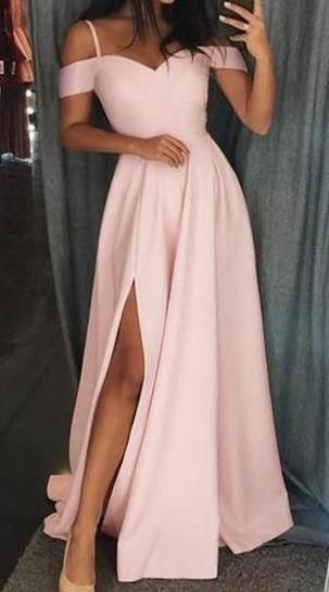Vestido Longo De Festa Com Fenda 242