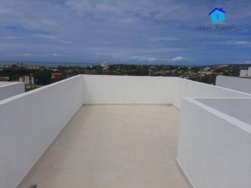 Imagem 1 de 15 de Casa 3 Qts, Piscina E Solarium Em Carapibus! - Ca0589