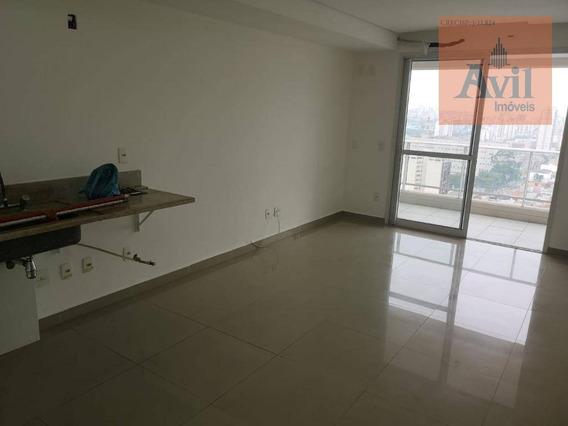 Apartamento Com 1 Dormitório À Venda, 35 M² Por R$ 360.000,00 - Tatuapé - São Paulo/sp - Ap2589