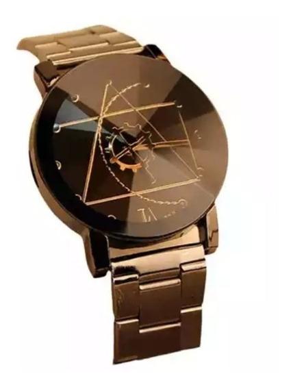 Elegante Reloj Para Hombre Analógico De Cuarzo