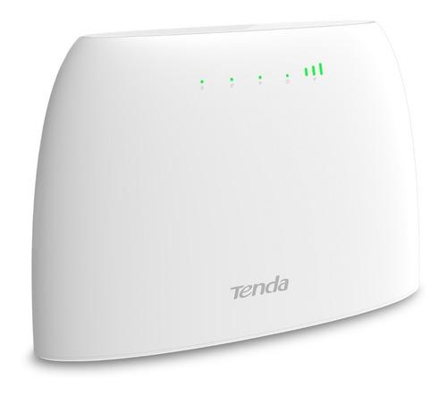 Imagen 1 de 8 de Router Tenda Wi-fi 4g Volte N300 4g03 Red 2.4 Tarjeta Sim