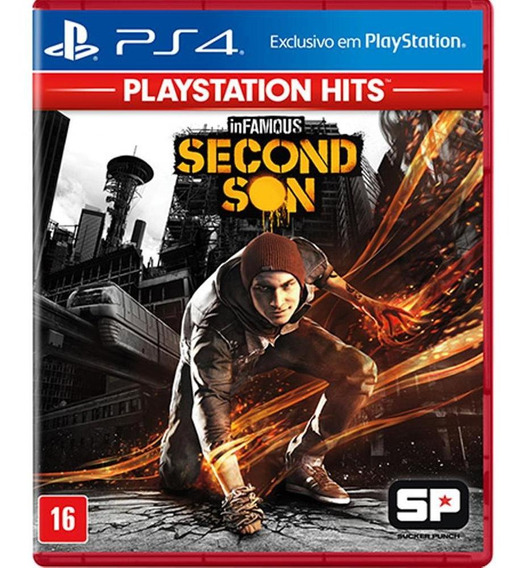 Infamous Second Son Playstation Hits Midia Física - Ps4