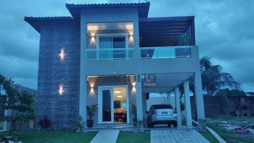 Imagem 1 de 9 de Casa Com 5 Dormitórios À Venda, 170 M² Por R$ 950.000,00 - Luzardo Viana - Maracanaú/ce - Ca0988