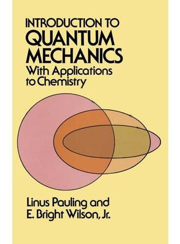 Introduction To Quantum Mechanics With Applications To Chemi