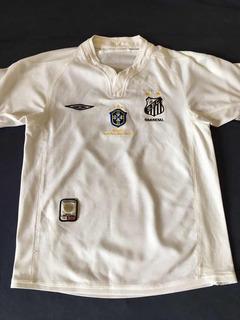 Camisa Santos 2005 Infantil # Patch Cbf Campeão Brasileiro