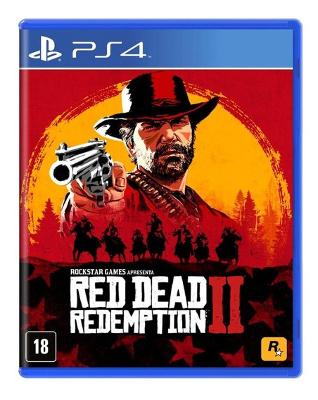 Red Dead Redemption 2 Ps4 Playstation 4 Rdr 2 Mídia Física