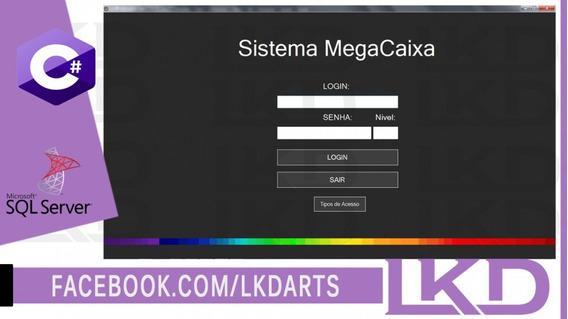 Sistema C# Megacaixav1 Com Bd Sql Server Ce Código Fonte Lkd