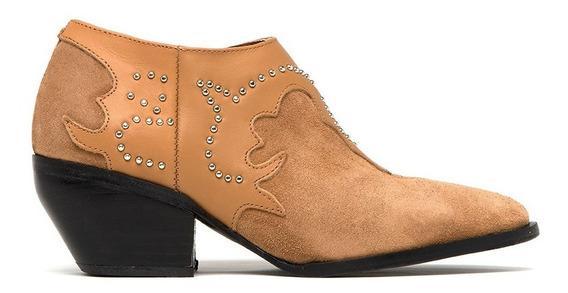 Bota Texana Mujer Caña Corta Comoda Moda 2020