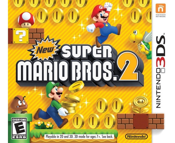 New Super Mario Bros. 2 - Semi Novo - 3ds - Gamercado