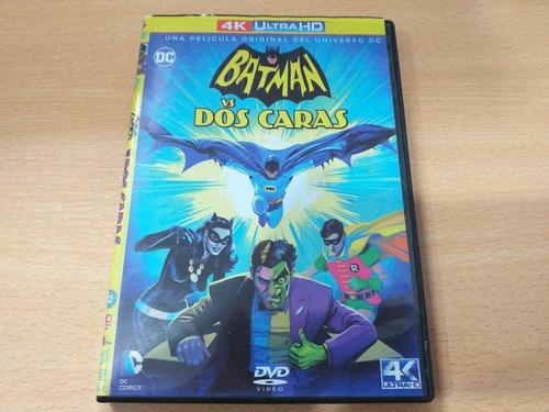 Imagen 1 de 1 de Batman Vs. Dos Caras, Película Animada En Dvd Año: 2017