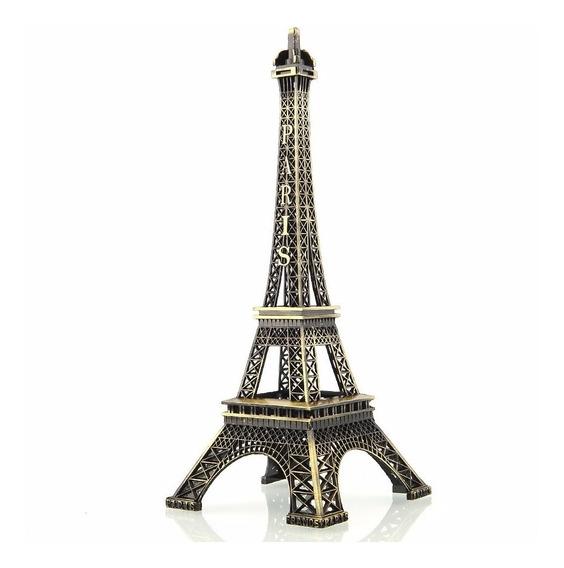 Enfeite Torre Eiffel Paris Grande 40 Cm Decoração Presente