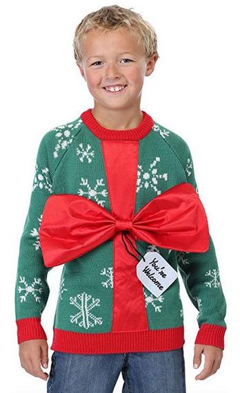 Sweater Navidad Regalo Niño Niña Sueter Ugly Navideño