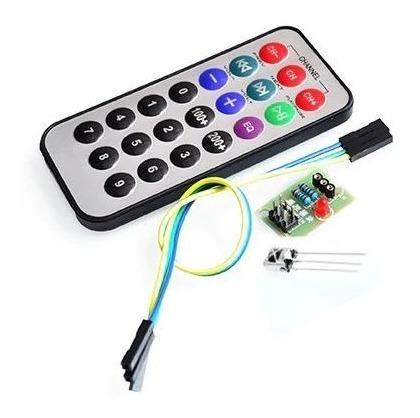 Módulo De Controle Remoto Infravermelho Arduino