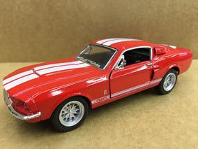 Miniatura Shelby Gt 500 Vermelho