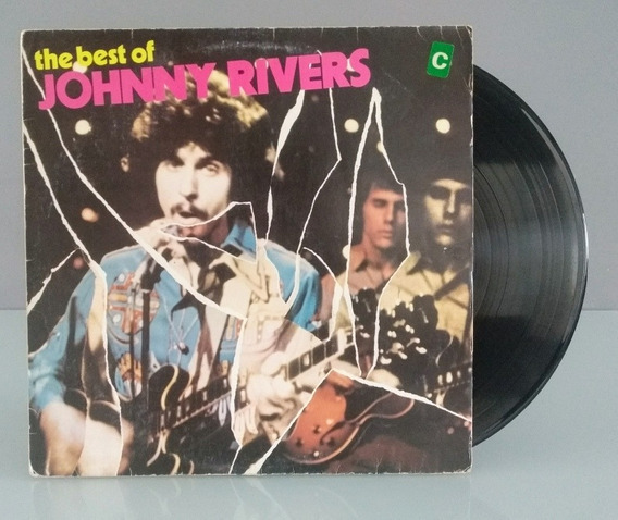 Johnny Rivers Lp - The Best Of Johnny Rivers - Vinil 1973