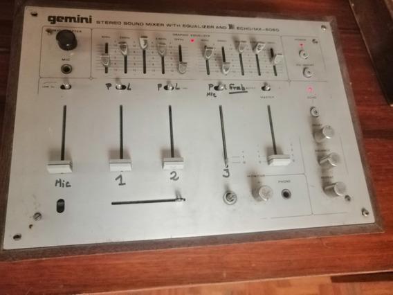 Mezcladora Y Ecualizador Gemini Echo / Mx 6060