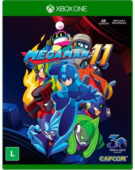 Megaman 11 Xbox One Mídia Física Pronta Entrega