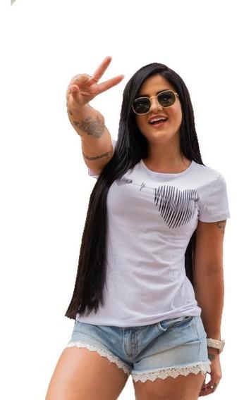 T Shirt Blusas Femininas Atacado Revenda .kit 10 Unidades.