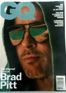 Revista Gq Octubre 2019 Brad Pitt Estados Unidos