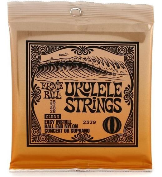 Encordamento Ernie Ball Ukulele Soprano Concert 2329 Usa