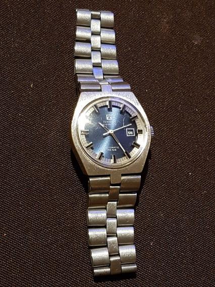 Reloj Tissot Visodate Automático Para Dama Pr56