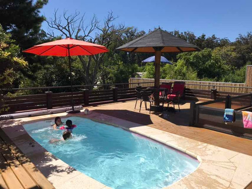 Casa Alquiler Temporal Punta Del Este - Playa Mansa- Piscina
