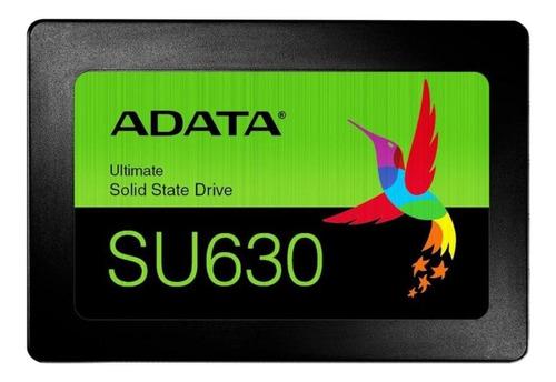 Disco sólido SSD interno Adata Ultimate SU630 ASU630SS-960GQ-R 960GB