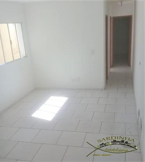 Casa Para Locação - 60m² Com 2 Dormitórios, Lavanderia, Quintal E 1 Vaga De Garagem - Jd Maria Rosa - Taboão Da Serra - Sp - Ml1261
