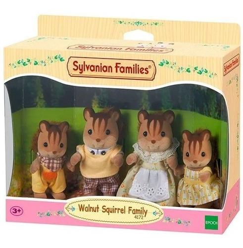 Sylvanian Families 4172 Familia De Ardillas Educando