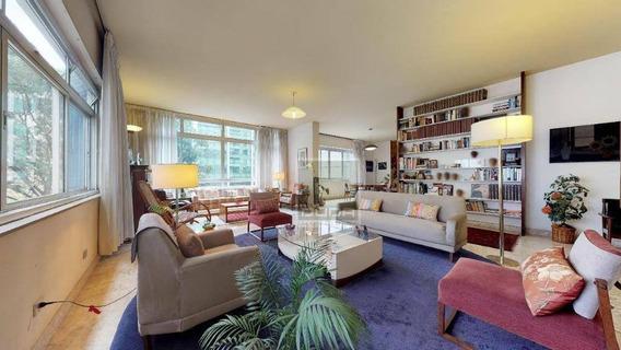 Apartamento Com 4 Dormitórios À Venda, 292 M² Por R$ 1.990. - Jardins - São Paulo/sp - Ap5035