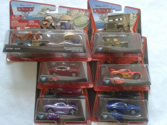 Carros Cars 2 Escala 1/55 Mattel Disney Pixar