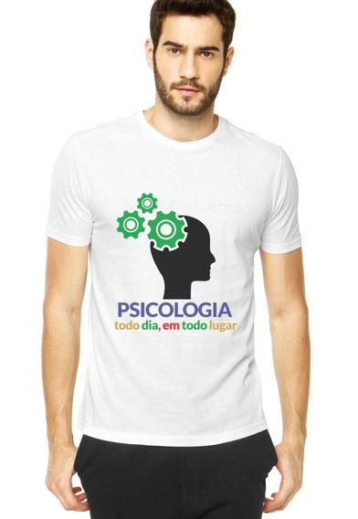 Kit Camiseta+caneca Psicologia