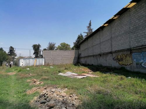 Imagen 1 de 10 de Terreno Industrial En Renta Con 200m Al Cto. Exterior Mexiquense