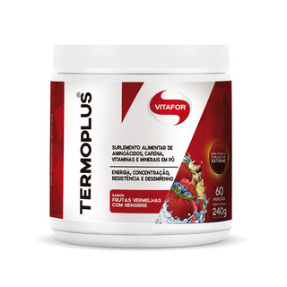 Termoplus Frutas Vermelhas Com Gengibre 240g Vitafor