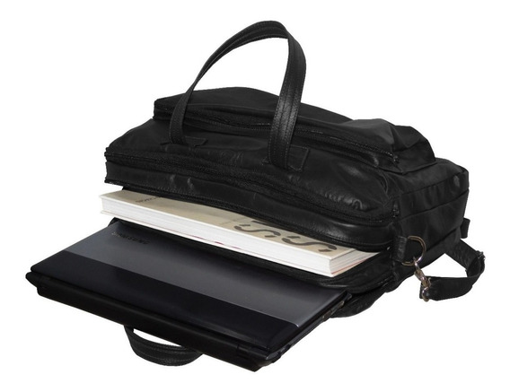 Bolsa Maleta Pasta Executiva Couro Legítimo Notebook Tablet