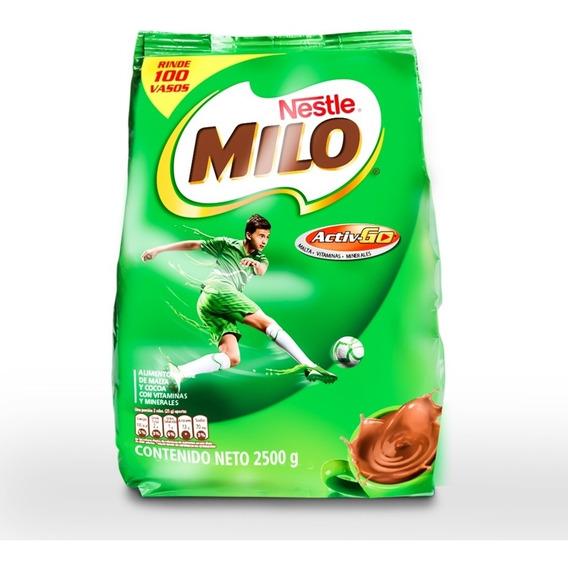 Chocolate Milo 2500g. 100% Entrega Gratis Para Quito