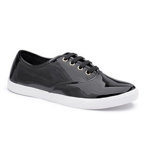 1569e2a886a Sapato Tipo Tênis Feminino Pata Forma Brilhoso - Sapatos no Mercado ...