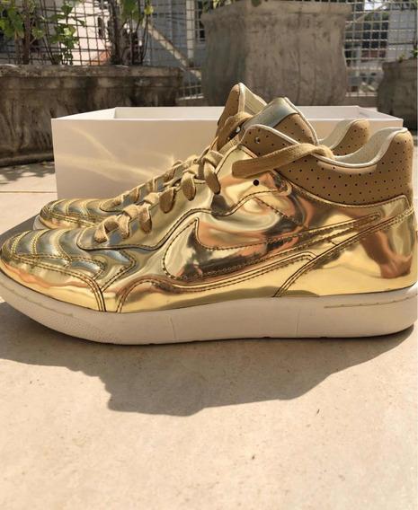 Tênis Nike Sneaker Air Edição Limitada Gold Dourado