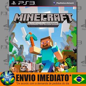 Minecraft Ps3 - Envio Imediato | Jogo Em Português Pt Br
