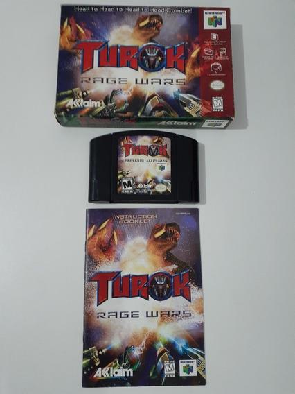 Jogo Turok Rage Wars (nintendo 64)