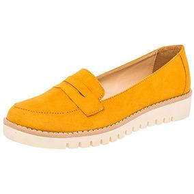 Zapatos Casual Flats Been Class Dama Sint Amarillo 87838 Dtt